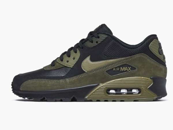 NIKE AIR MAX 90 LEATHER 302519 014 MENS SIZE 7 for Sale in Queens ... 9d476ec17b7
