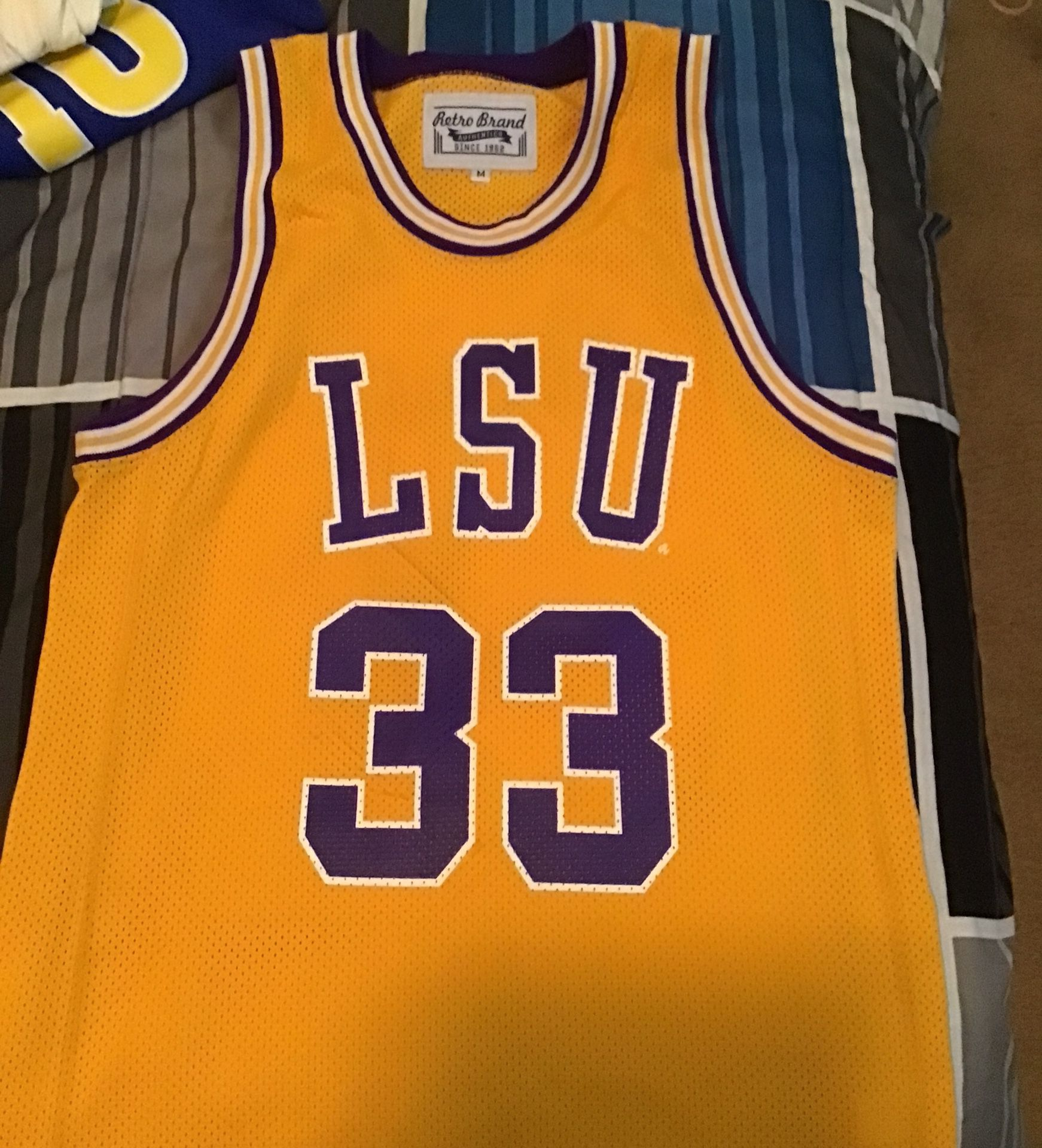 LSU Shaquille O'Neal Jersey.... Retro brand Authentic