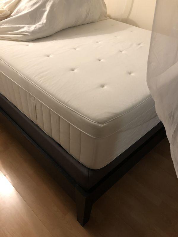 Ikea Hesstun Spring mattress, nordli queen frame, espevar box spring for  Sale in San Francisco, CA - OfferUp
