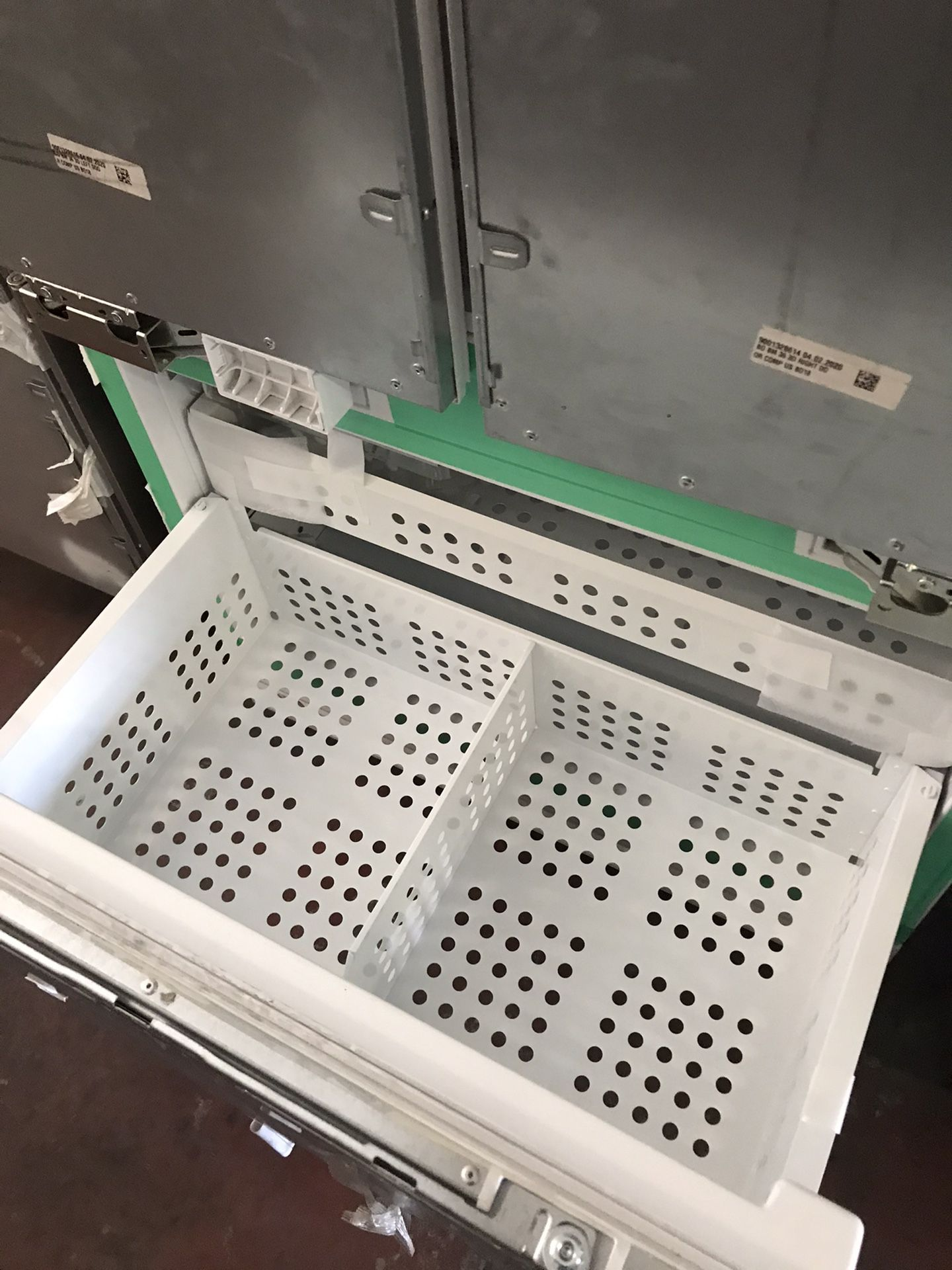 """New Thermador Panel Ready 36"""" Built In Fridge"""