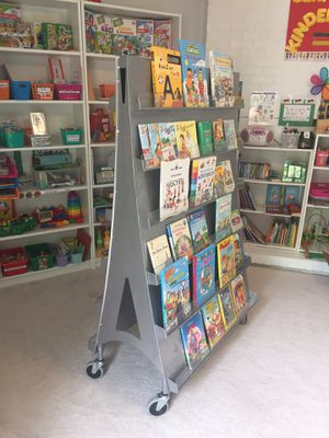 Bookshelf on wheels for Sale in Franconia, VA
