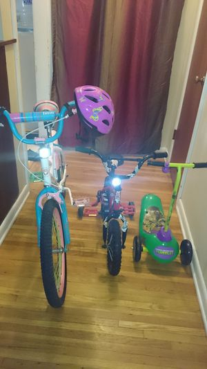 Baby bikes with his electric powered scooter and works in good condition for sale  Tulsa, OK