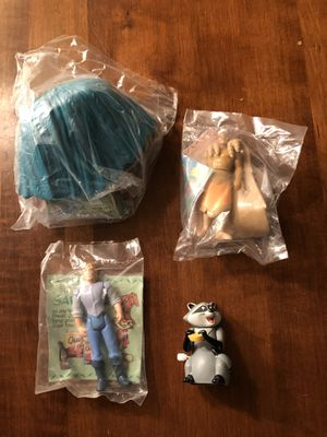Lot of 4 vintage Burger King kids meal collectible toys- New unopened packages for Sale in Palmdale, CA