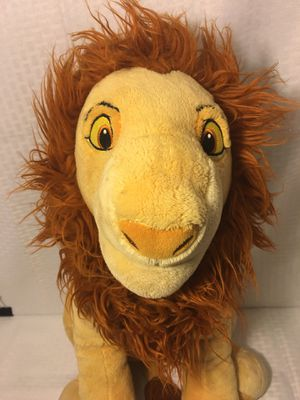 MUFASA PLUSH TOY Lion King AUTHENTIC Disney Store Exclusive Simba Scar for Sale in Greenville, SC