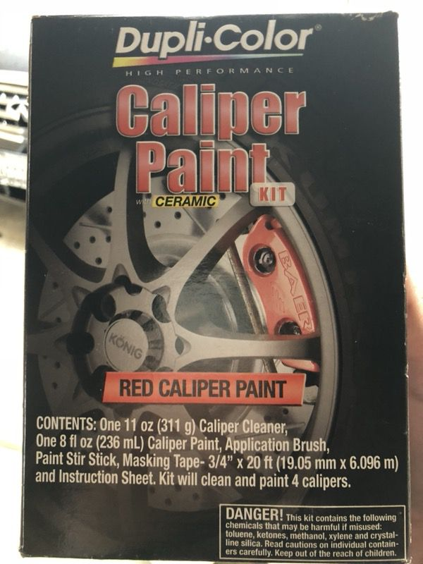 Red Caliper Paint Kit Dupli Color For Sale In Mountain View Ca