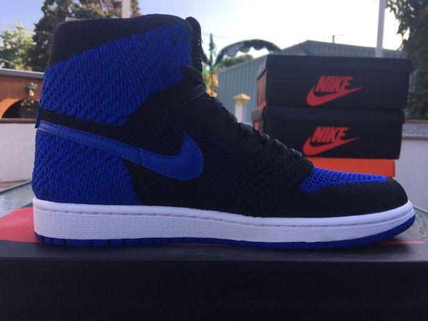 7d9a25600c74e7 Jordan 1 Flyknit Royal Size 8 Brand New (Clothing   Shoes) in Pomona ...