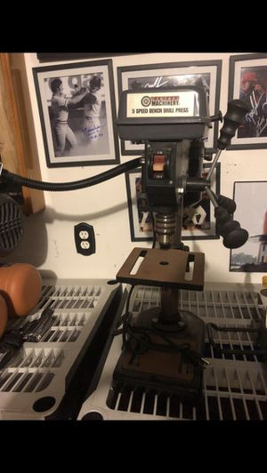 Central machinery 5 speed bench drill press for Sale in Deltona, FL