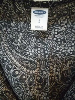 Black and white Old Navy dress, size Small Thumbnail