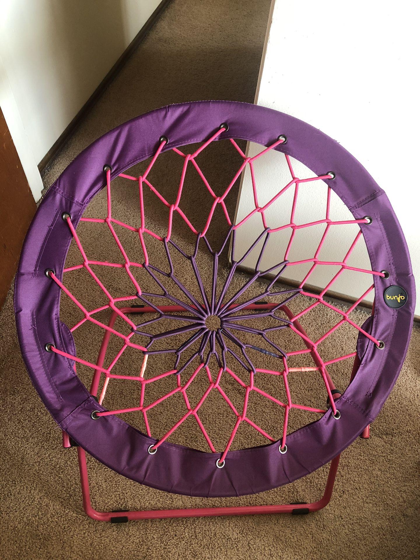 Bunjo Bungee Chair (purple/pink)