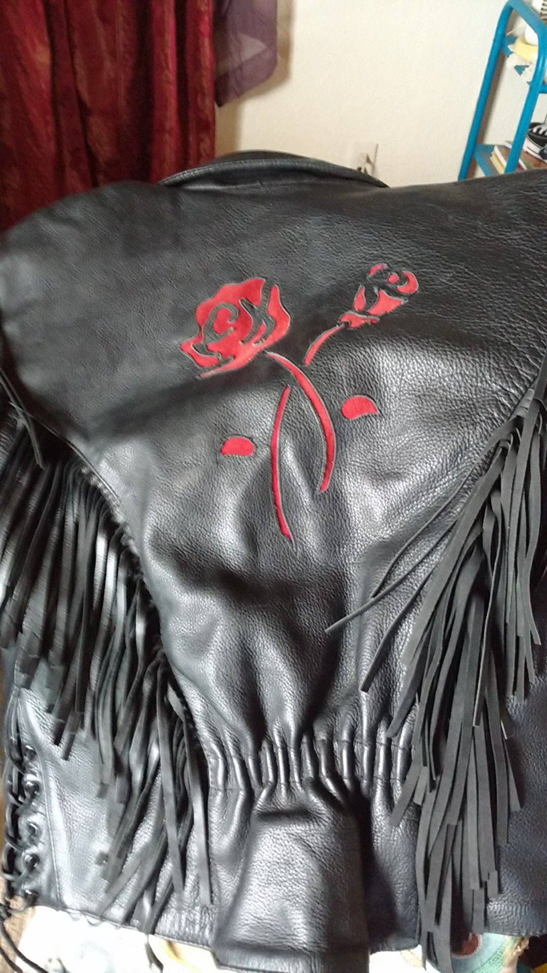 First, genuine leather