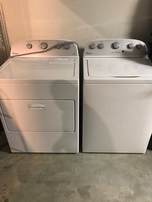Whirlpool: Washer=Electric. Dryer=Electric or Gas for Sale in San Diego, CA