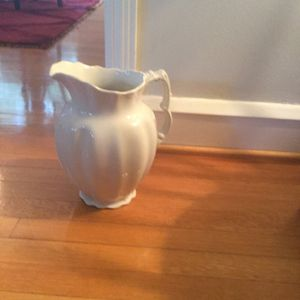 1800s antique royal ironstone China pitcher for Sale in Washington, DC