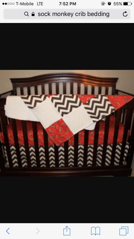 Sock Monkey Crib And Car Seat For Sale In Bryan Tx Offerup