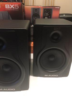 Monitor Studio Speaker M-Audio BX5 for Sale in Centreville, VA