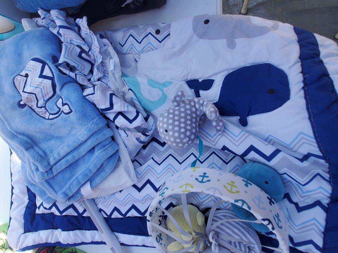 Baby Crib Set