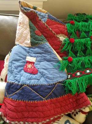 Christmas Tree Skirt in great shape for sale for Sale in Fairfax, VA