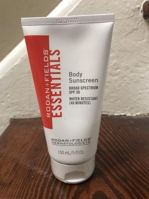 Rodan + Fields Essentials Broad Spectrum SPF 30 Body Sunscreen for Sale in Columbus, OH