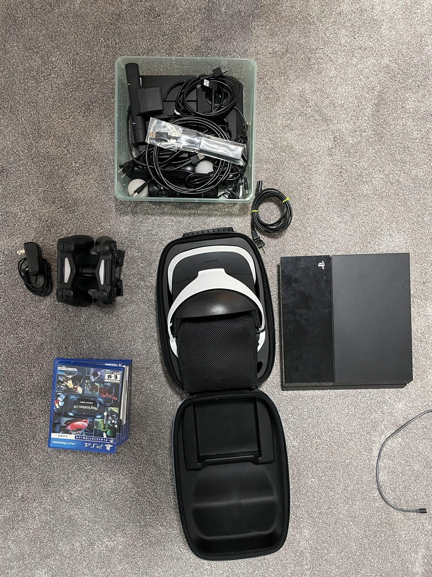 PlayStation 4 + PSVR + Games Bundle