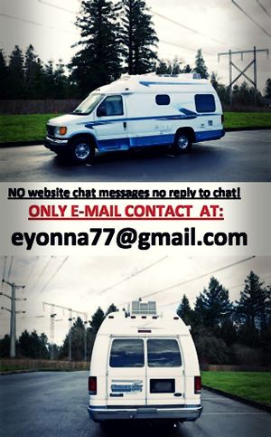 For sale Ford E350 Van motorhome full price listed RV! for Sale in Cleveland, OH