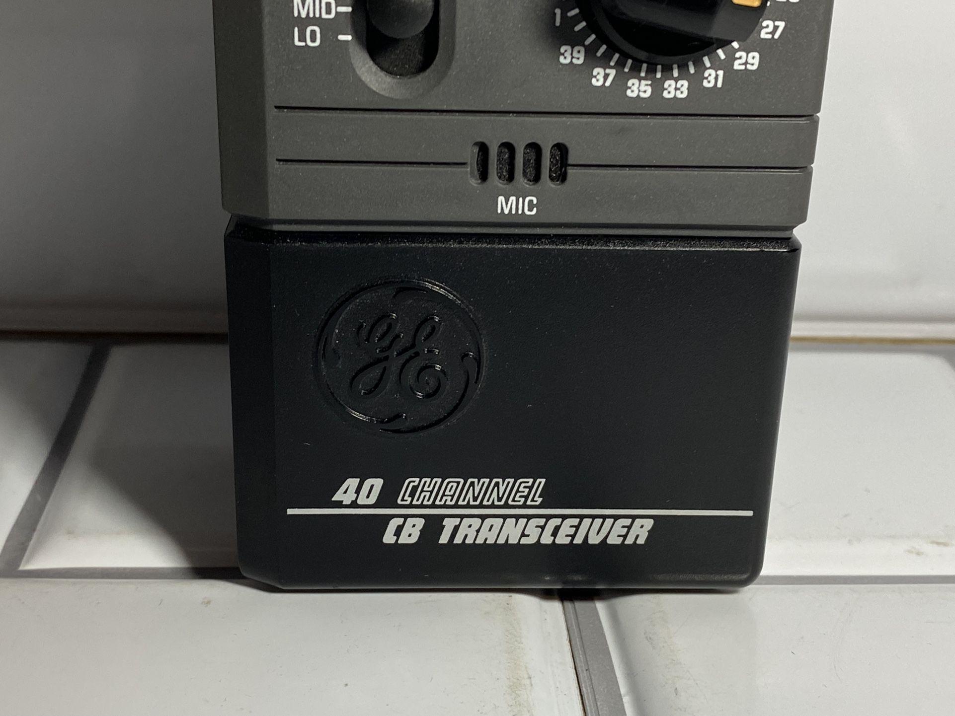 40 channel handheld CB radio GE