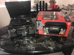 Retro CD Home Stereo System for Sale in Olympia Heights, FL