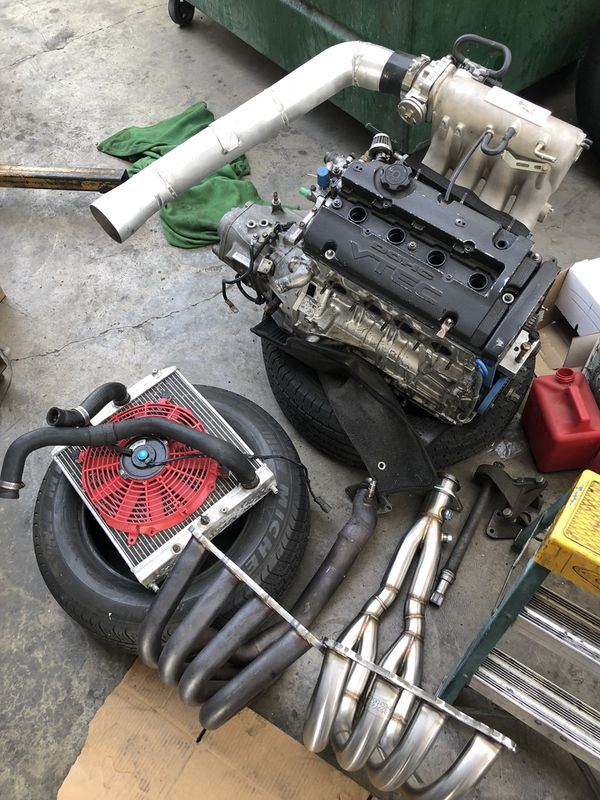 H2b 4 7 Type R Trans Full Swap Plug And Play Los Angeles