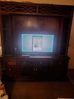 Large Wall Unit From Bobs Discount Furniture Used Thumbnail