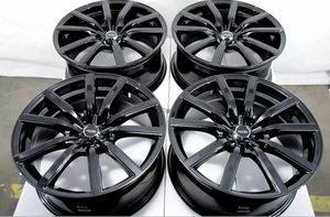 Photo 18 inch wheels and tires 5x114.3 brand new set for Toyota Nissan Honda Mazda Lexus many more