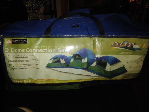 Ozark Trail 3 Dome Connection Tent For Sale In Lexington Ky Offerup