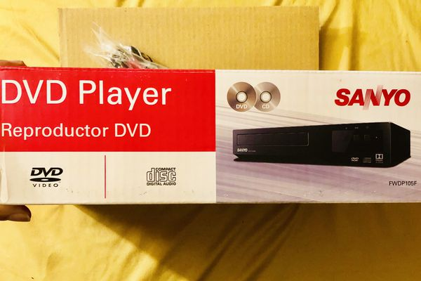 Sanyo FWDP105F DVD player with Remote control, for Sale in Providence, RI -  OfferUp