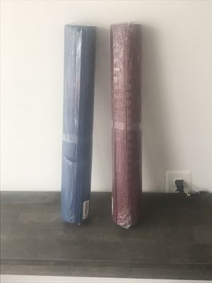 Blue and Red Yoga Mats for Sale in Washington, DC