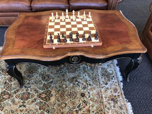Antique Baroque Style Coffee Table for Sale in Seattle, WA