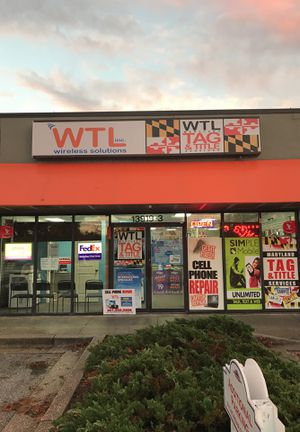 Get your phone fixed today at WTL Wireless for Sale in Laurel, MD