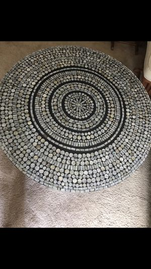 """Brand new 35x20"""" round mosaic cocktail table stunning designs check out my other items on this page message me if you interested gaithersburg md 20877 for Sale in Gaithersburg, MD"""