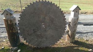 HUGE CIRCULAR SAW MILL - SAW BLADE. for Sale in Seattle, WA