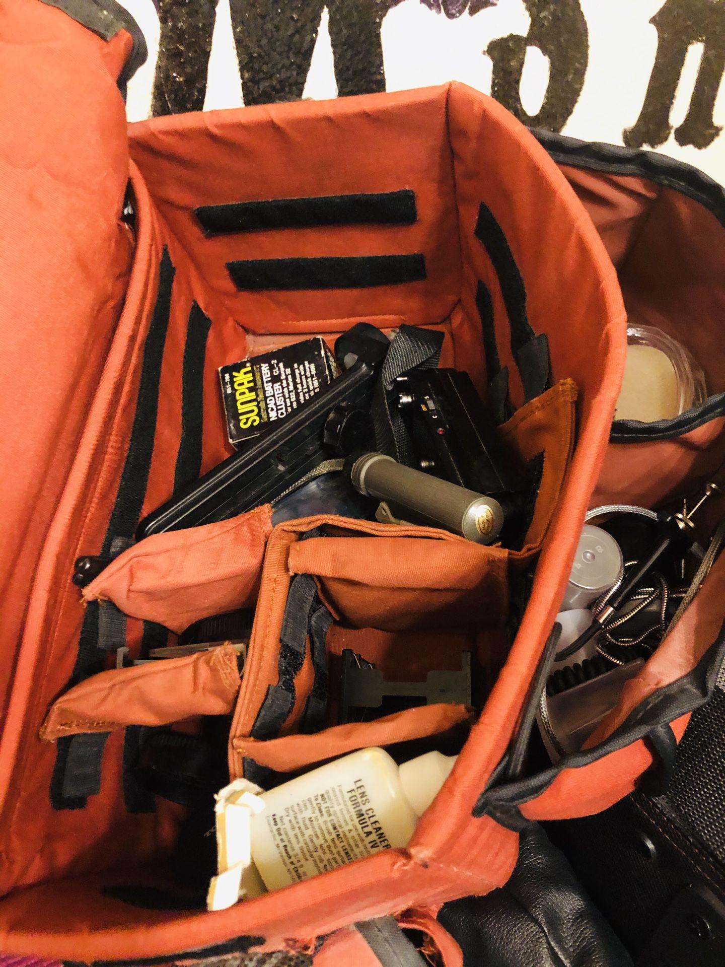 Canon camera equipment