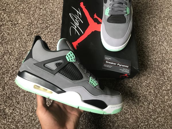 release date: d7cec e9459 Green glow 4s size 11.5 Og everything for Sale in Sunrise, FL - OfferUp