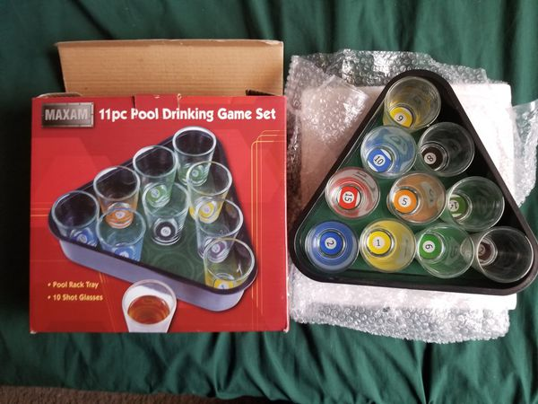 New 11 pc pool drinking game set for $10 for Sale in Las Vegas, NV - OfferUp