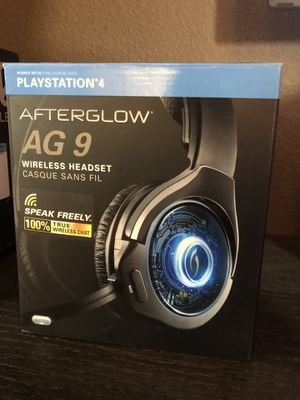 PS4 wireless headset Afterglow AG9 for Sale in Las Vegas, NV