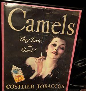 vintage Camels ad for Sale in Las Vegas, NV