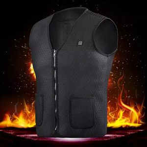 Outdoor Riding Skiing Fishing USB Charging Electric Heated Vest Warm Electric Heated Clothing USB Vest Keep Warm Accessories for Sale in Bethesda, MD