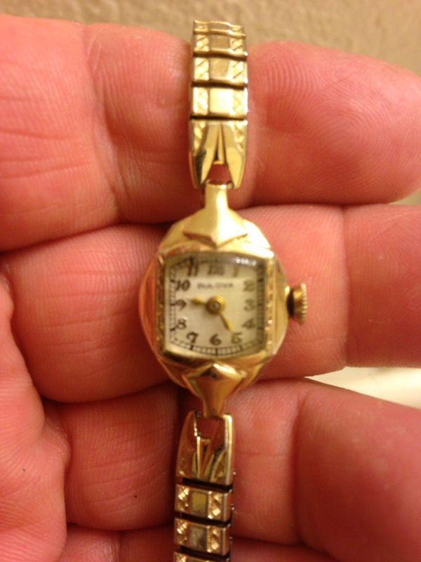 14 kt gold filled bulova watch vintage for Sale in San Marcos, CA ...