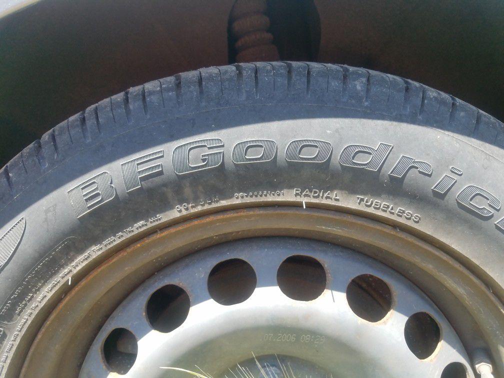 215 55 16 bf Goodrich