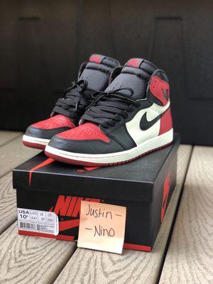 166b737bec Jordan 1 Bred Toe for Sale in South San Francisco