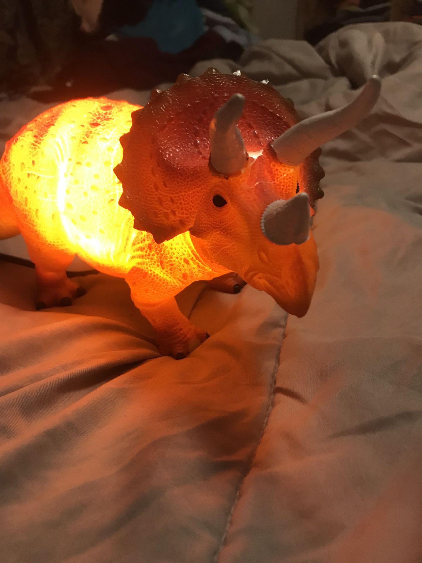 Lámpara de dinosaurio 🦖