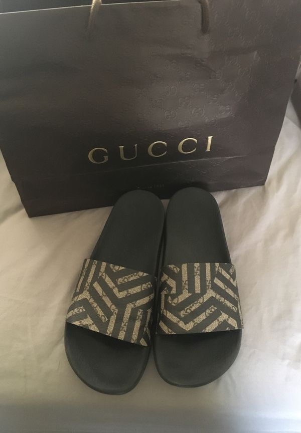 678f337c9 Authentic gucci gg caleido slides for Sale in Torrance, CA - OfferUp