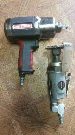 Craftsman 1 2 Dr Air Impact Wrench And Cut Off Tool