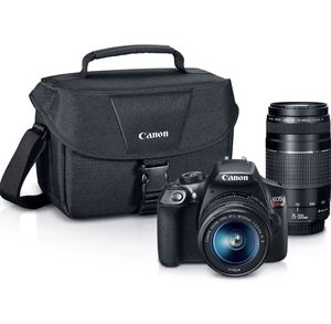 Canon Rebel T6 DSLR Premium Bundle Kit with 18-55mm 75-300mm Lenses & Canon Case for Sale in Gibsonton, FL