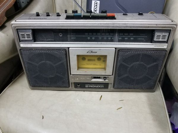 VINTAGE PIONEER STEREO CASSETTE TAPE RECORDER MODEL NO  SK- 11 for Sale in  Santa Ana, CA - OfferUp