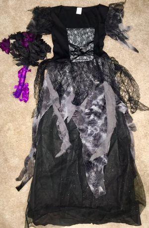Zombie bride Halloween costume with bouquet for Sale in Arlington, VA